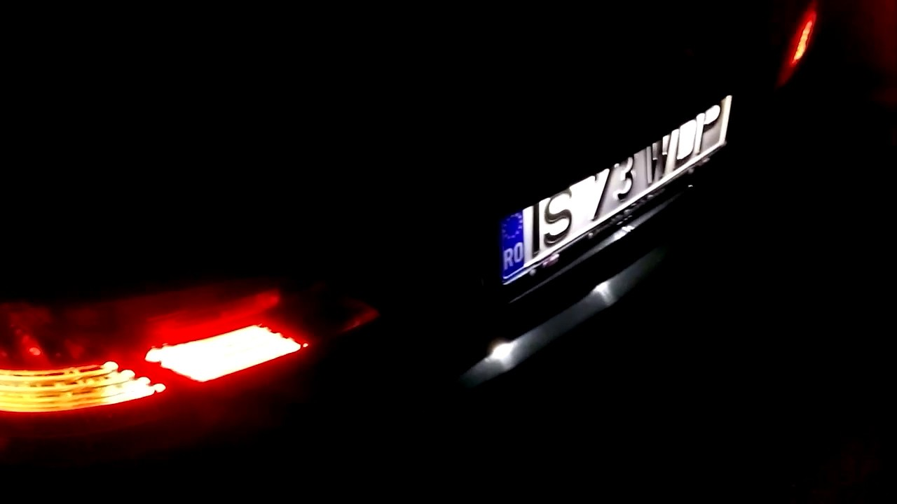 BMW e65 730d Shadow Line night view - YouTube