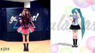 【いとくとら+MMD 初音ミク】galaxias!踊ってみたコラボo(^-^)o♪