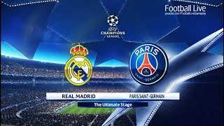 PES 2018 | Real Madrid vs PSG | UEFA Champions League (UCL) | Gameplay PC