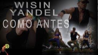 Wisin y Yandel - Como antes. Reggaeton Zumba Choreo