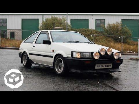 We paint Trueno parts & learn some stuff about the Irish Twin cam   Juicebox Unboxed #25