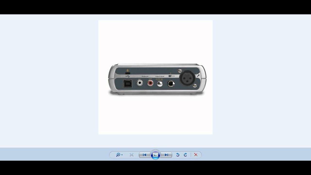 como descargar instalar y configurar una placa de audio MAUDIO fast track  ESPAÑOL