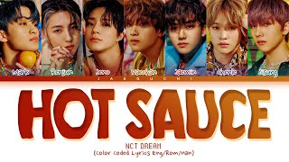 NCT DREAM Hot Sauce Lyrics (엔시티 드림 맛 가사) (Color Coded Lyrics)