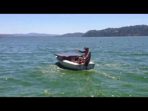 Solar powered boat v1.0
