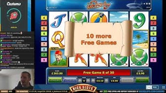 BIG WIN on Sharky Slot - £0.90 Bet