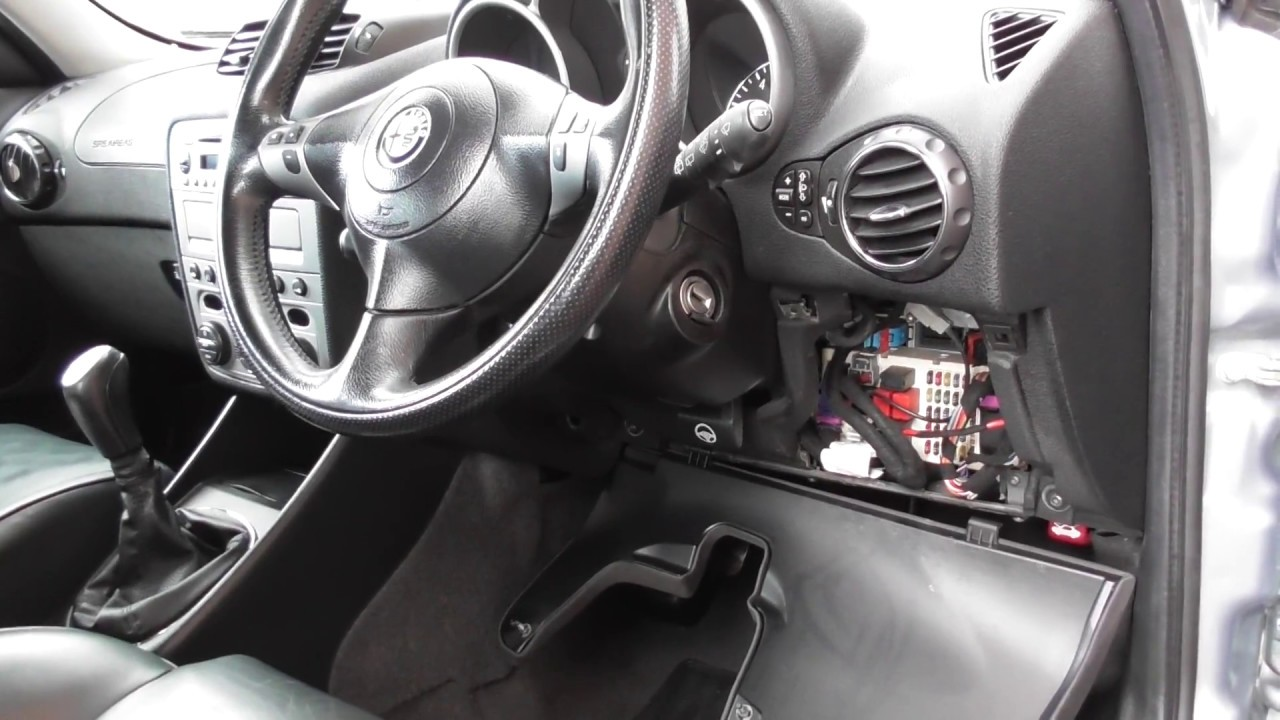 Alfa Romeo 147 Obd2 Diagnostic Port Location Youtube 03 Audi A4 Fuse Box