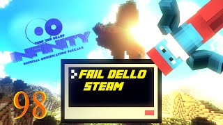 FAIL DELLO STEAM - FTB INFINITY: #98