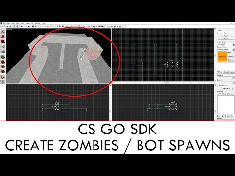 CS GO SDK : Creat Zombies / Bot Spawns