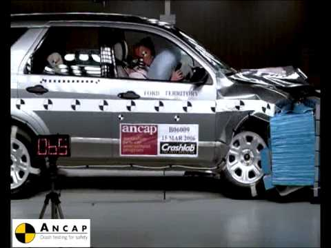 Ford Territory 2006 ANCAP Crash Test (4 stars)