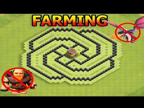 Clash Of Clans EPIC (TH8) Farming Base