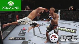 USANDO A GRADE !! - EA Sports UFC - Modo Carreira #10 [Xbox One]