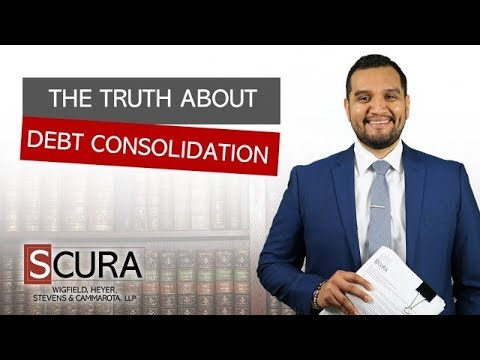 The Truth About Debt Consolidation: What They Don't Tell You