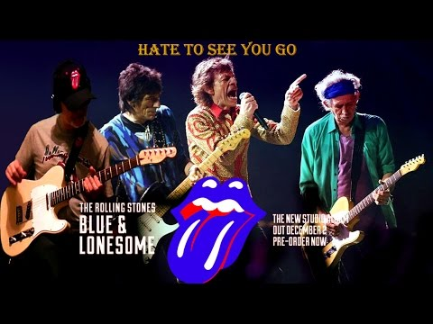 Hate To See You Go Subtitulada Rolling Stones & RollingBilbao Blue & Lonesome Guitar Cover HD