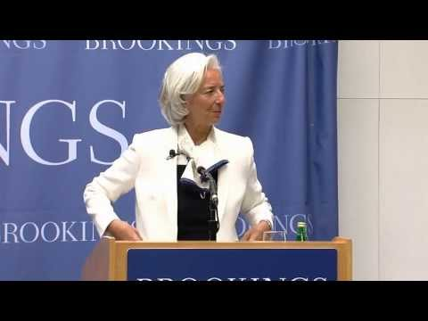 The Global Economic Outlook: A Conversation with IMF Managing Director Christine Lagarde