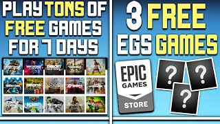 Play a Ton of PC Games FREE Right Now For 7 Days + 3 Free EGS PC Games