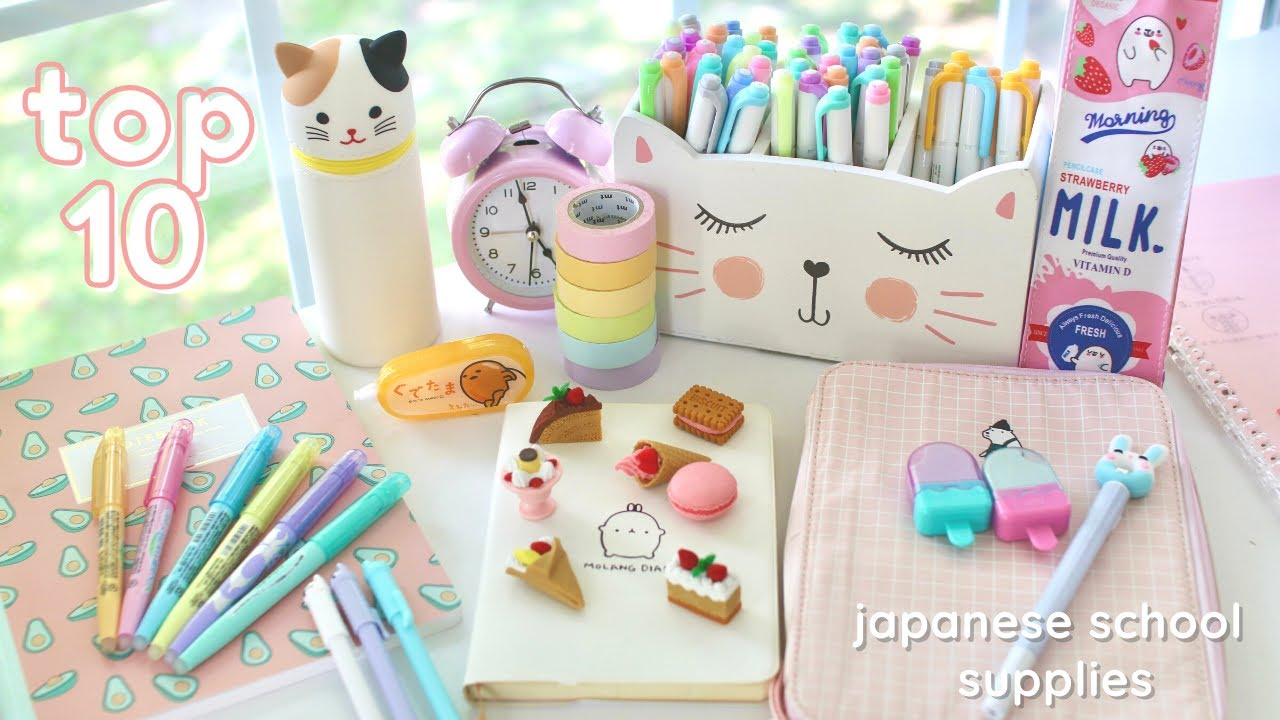 Top 10 Japanese stationery you didn't know you needed ✨🍰