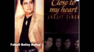 DUKHI MAN MERE Jagjit Singh Album CLOSE TO MY HEART
