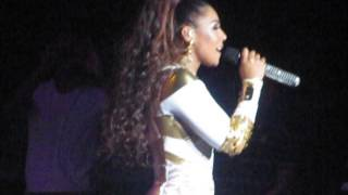 Ashanti performing MESMERIZED in Las Vegas on 05/25/2013
