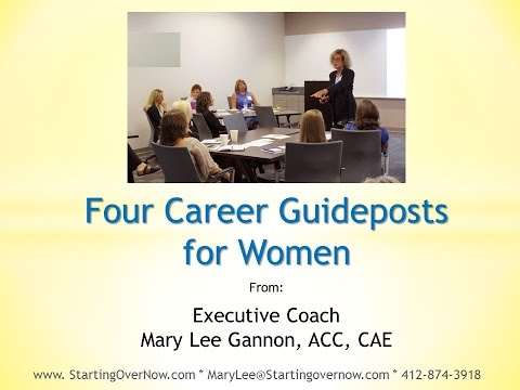 Four Career Guideposts for Women Who Want to Advance Quickly in Their Careers