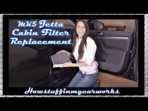 2008 vw jetta how to change cabin air filter doovi. Black Bedroom Furniture Sets. Home Design Ideas