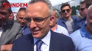 Bakan Agbal Başkan Kasap ile penaltı İddiası
