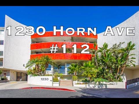 1230 Horn Ave #112, West Hollywood CA 90069