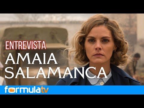 Amaia Salamanca explica por qué está en 'Tiempos de guerra' y no en 'Velvet Colección'
