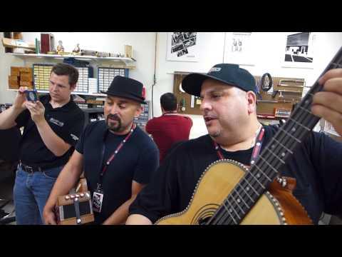 Los Texmaniacs at Hohner, Inc.
