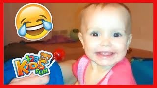 TRY NOT TO ! Ultimate Cute and Funny Kids & Baby Fails Videos Compilation