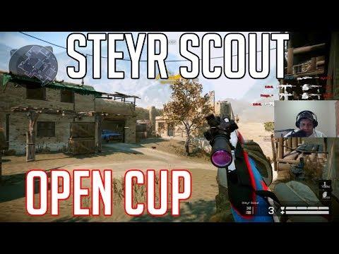 WARFACE - Steyr Scout Open Cup / Dei rage pra anti sniper