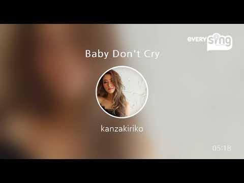 安室奈美恵 Baby Don't Cry 歌ってみた