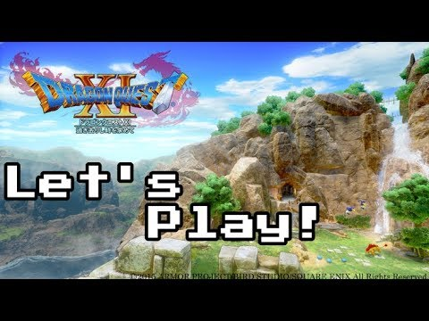 Let's Play Dragon Quest XI - Hour 1