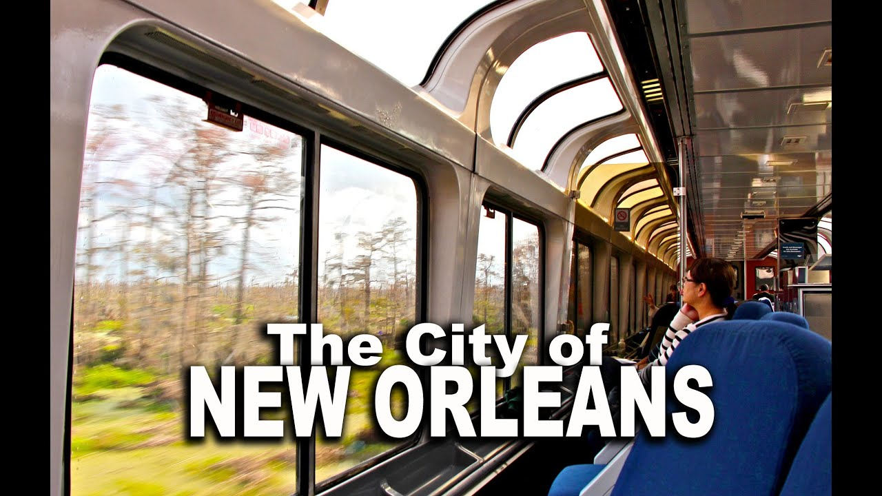Nature Train Amazing Views From Amtrak S City Of New Orleans