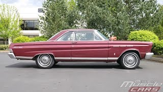 1965 Mercury Comet Caliente Engine Run & Test Drive