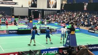 [NICE ANGLE][HQ] 2019 US Open MD QF - Ko/Shin vs Yao/Po Han