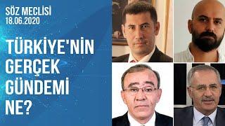 Söz Meclisi | Çiğdem Akdemir - Saygı Öztürk - Fikret Bila - Sinan Oğan - Fatih Yaşlı |18.06.2020