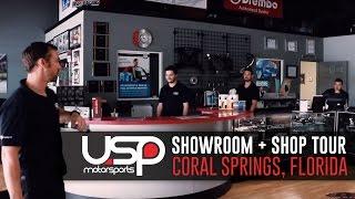 showroom shop tour   coral springs fl   usp motorsports
