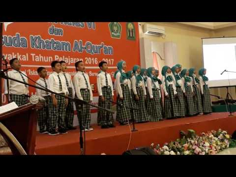 Gema melodi himne madrasah yudisium mi tawakkal 2017