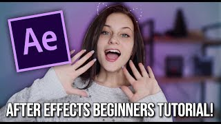 AFTER EFFECTS TUTORIAL FOR BEGINNERS!
