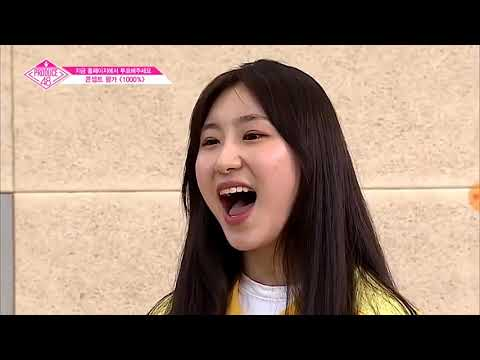 Produce 48 ENG sub: WM Lee Chaeyeon 1000% BTS