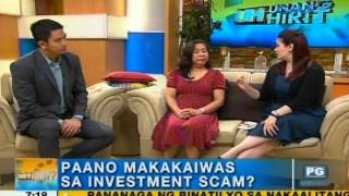 How to avoid investment scams | Unang Hirit