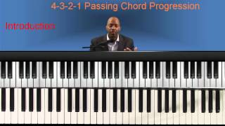 gospel piano lessons  passing chords