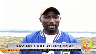 Saving Lake Olbolosat