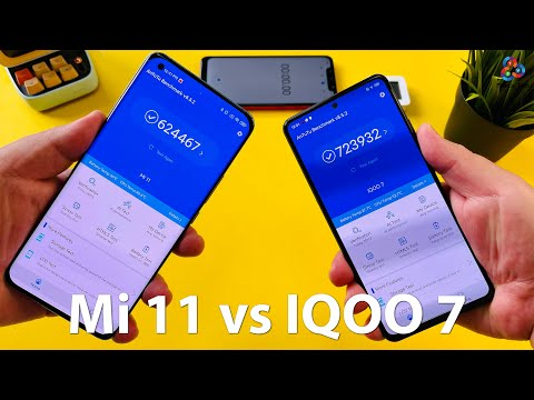 Mi 11 vs IQOO 7 ANTUTU THROTTLE TEST
