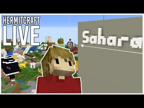 Hermitcraft 6: Working On Sahara  (LIVE)