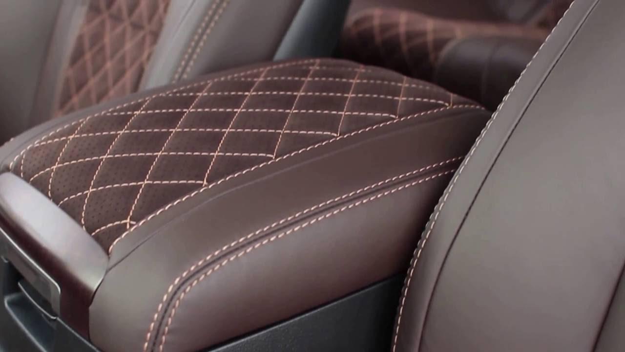 Toyota Land Cruiser 200 Перетяжка салона в автоателье Рикошет-Плюс