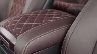 Toyota Land Cruiser 200 Перетяжка салона в автоателье Рикошет-Плюс(, 2016-07-26T04:53:08.000Z)