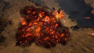 We've made a new Burning Ground effect that doesn't hurt performance. Here's how it looks now.