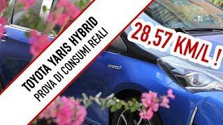 Toyota Yaris Hybrid: la VERA prova di consumi 100% REALI