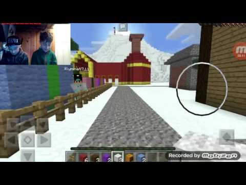 Minecraft Christmas special with my illuminati the beast #1